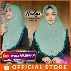 [TERMURAH SHOPEE] Jilbab Nadya by Quail Hijab / Jilbab Instan / Jilbab Adem / Quail   Shopee Indonesia Simple Hijab Tutorial, Hijab Collection, Quail, Free Delivery, Easy, Model, Fashion, Mathematical Model, Moda