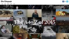 The A to Z of 2015, The Telegraph