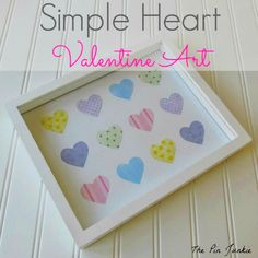 Valentines Day Crafts for the Home