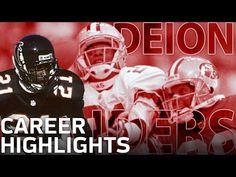 3607d57d Deion Sanders Primetime Career Highlights   NFL Legends. Atlanta  FalconsWashington RedskinsDallas CowboysFootball ...
