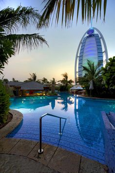 Jumeirah Beach Hotel, Dubai - Honeymoon destinations - Club Executive Pool