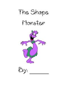 A booklet for first grade that covers the plane shapes. ...
