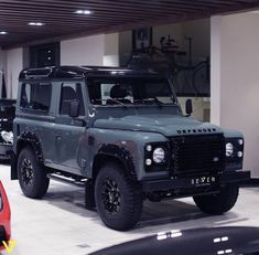 Ideas Suv Cars Jeep Landrover Defender For 2019 Land Rover Defender, Defender 90, Cars Land, Suv Cars, Jimny Suzuki, Camping Gear, Camping Style, Camping Places, Truck Camping