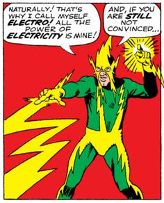 Image result for spider-man electro ditko