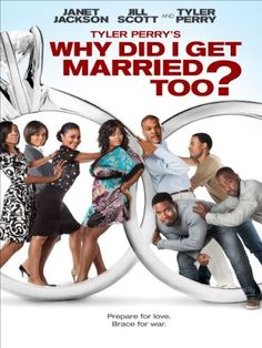 Reuniting the same charismatic cast from his hit comedy/drama, WHY DID I GET MARRIED?, Tyler Perry brings us the next chapter in the lives of eight college friends struggling with the challenges of marital life in WHY DID I GET MARRIED TOO?