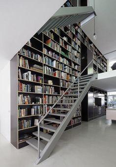 Bookshelf Porn - Oh. My. God.  So many book shelves.  So little time!