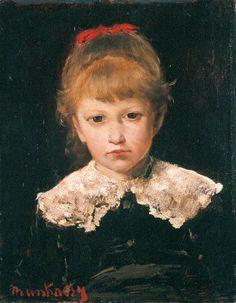 Munkácsy Mihály (1844-1900) - Kisleány
