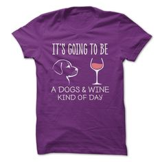 """T-Shirts - At iHeartDogs, 3 simple words drive everything we do. They are the reason we go to work every day. We believe """"All Dogs Matter"""". Simple Words, Vinyl Crafts, Make Me Smile, Fur Babies, Tee Shirts, Wine, My Style, Purple, Dogs"""