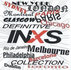 INXS -Definitive Collection front cover