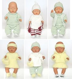 Baby born clothes / free pattern