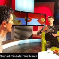 La emisiunea Buna Dimineata Transilvania de la TVR Cluj. Bending, Romania, Aquarium, Flat Screen, Tv, Goldfish Bowl, Blood Plasma, Aquarium Fish Tank, Television Set