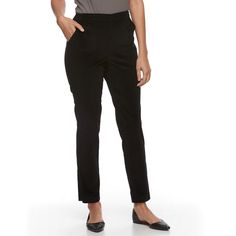 3a09f3770d Petite Croft   Barrow® Pull-On Corduroy Pants