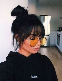 30 Sexiest Wispy Bangs You Need to Try in 2019 - Style My Ha.- 30 Sexiest Wispy Bangs You Need to Try in 2019 – Style My Hairs Amazing and Hot Hairstyle for Mordern Women - Curly Hair Styles, Hot Hair Styles, Medium Hair Styles, Long Face Hairstyles, Latest Hairstyles, Easy Hairstyles, Hairstyles 2018, School Hairstyles, Hairstyles With Fringes