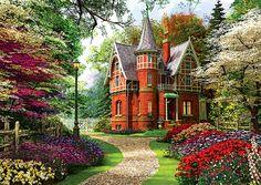 Trefl Puzzle 1000 Teile Viktorianisches Anwesen (10355) Haus Garten in Spielzeug, Puzzles & Geduldspiele, Puzzles | eBay | ein Angebot von http://nextpuzzle.de
