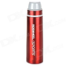 Roswheel 52527 Double Layer Stainless Steel Vacuum Thermos Bottle Flask - Red (500mL) Price: $20.53