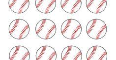 Baseball scrapbook, Treat bags and Circles on Pinterest