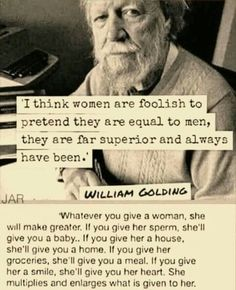 Important to remember our power ladies and, as with all power, to use it wisely