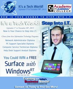 Looking for a rewarding career in technology? Just Step Into I.T.!