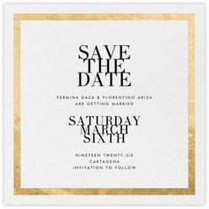 Save the dates - Paperless Post