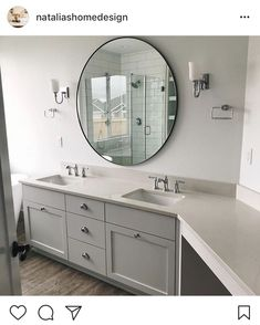Top Knobs Design Round-Up - Top Knobs Top Expressions: projects and news Cabinet Hardware, Double Vanity, Door Handles, Mirror, Projects, Bathrooms, Furniture, News, Design