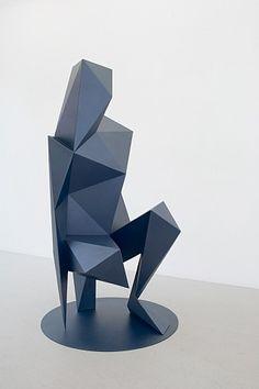 modern, abstract sculpture