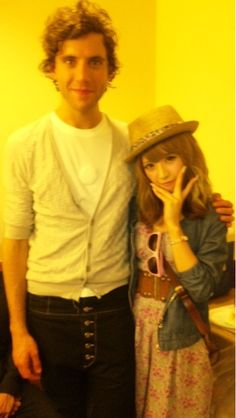 Mika and with Japanese model Kumiko Funayama