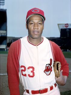 Chuck Hinton spent 6yrs w/Tribe; was man who had to replace Rocky Colavito in RF after Rock traded to Detroit.