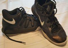 d8690767fae Nike KD V Trey Black Basketball Shoes Athletic Sneakers Boys Youth size 5.5  y  fashion