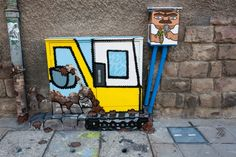 street art in Sofia, Bulgaria