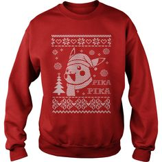 Pikachu Ugly Christmas Sweater