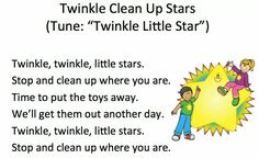 Clean up song for preschool! Preschool Poems, Preschool Music, Preschool Lessons, Rhymes Songs, Fun Songs, Songs To Sing, Clean Up Song, Songs For Toddlers, Kids Songs