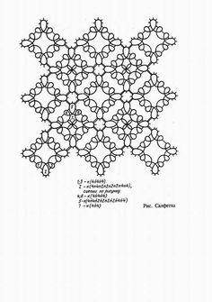 square motifs mat pattern (klk.pp.ru)