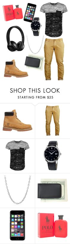 """School days"" by liyahbear753 ❤ liked on Polyvore featuring Timberland, Boohoo, Frédérique Constant, David Yurman, Royce Leather, Off-White, Ralph Lauren, Beats by Dr. Dre, men's fashion and menswear"