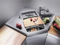 Картинки по запросу угловая раковина на кухне