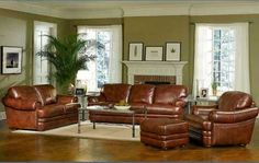 Living Room Color Idea with Brown Furniture New Living Room Paint Color Ideas with Brown Furniture Large Living Room Furniture, Cheap Living Room Sets, Brown Furniture, Living Room Decor, Living Rooms, Leather Furniture, Rustic Furniture, Furniture Ideas, Leather Sofas