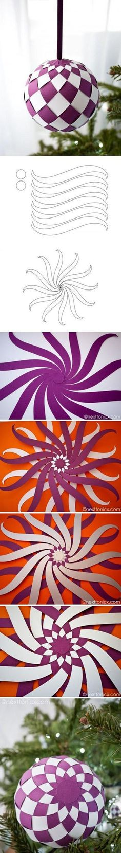 Diy Purple Decoration Ball - Follow #SightApp and save an entire article or recipe by 1 screenshot (Check How: itunes.apple.com/...