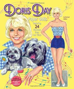 Doris Day Paper Dolls Featuring 24 Fashions from Her Films: David Wolfe, Pierre Patrick, Paper Dolls: Books