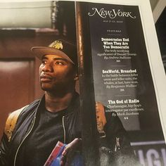 Go pick up the new that dropped today. They got a 4 page spread on Charlamagne Tha God, At Last, The Breakfast Club, Sea World, Candid, Hip Hop, Latest Issue, Celebrities, Instagram Posts
