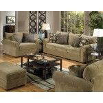 """Jackson Furniture - Anniston 3 Piece Living Room Set in """"Mineral"""" Chenille - 4342-03-3SET  SPECIAL PRICE: $2,307.00"""