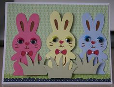 Easter card using Create a Critter 2