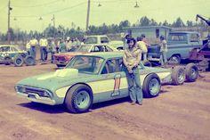 Vintage dirt race car