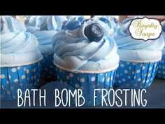 Tutorial : Bath Cupcake Frosting | Royalty Soaps - YouTube