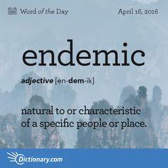 Endemic-
