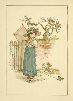 October - Kate Greenaway's Almanack for 1895