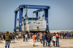 "ISA Yachts Launch 43m ""Philmi"""