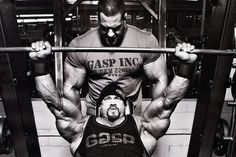 Two big men lifting heavy on the incline bench press!