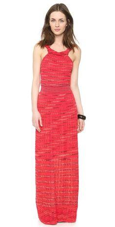 M Missoni Space Dye Maxi Dress | SHOPBOP SAVE 25% use Code:INTHEFAMILY14