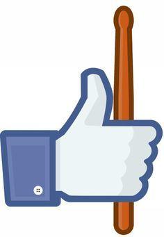 Facebook likes drummers