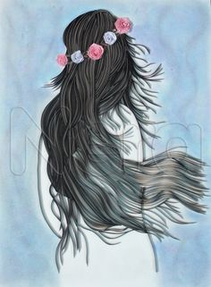 again i quilled one of Loui Jover's art. the size is 36*50