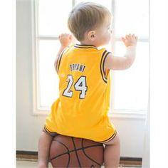 Kobe Bryant Baby Jersey LA Lakers 0bc5785d9